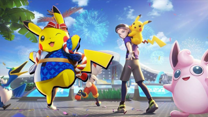 Pokémon Unite has more than 1 million pre-registrations on iPhone and Android;  advertised gifts