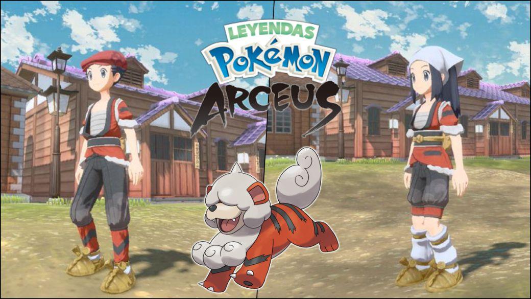 Pokémon Arceus Legends: How to get Hisui Growlithe's kimono?