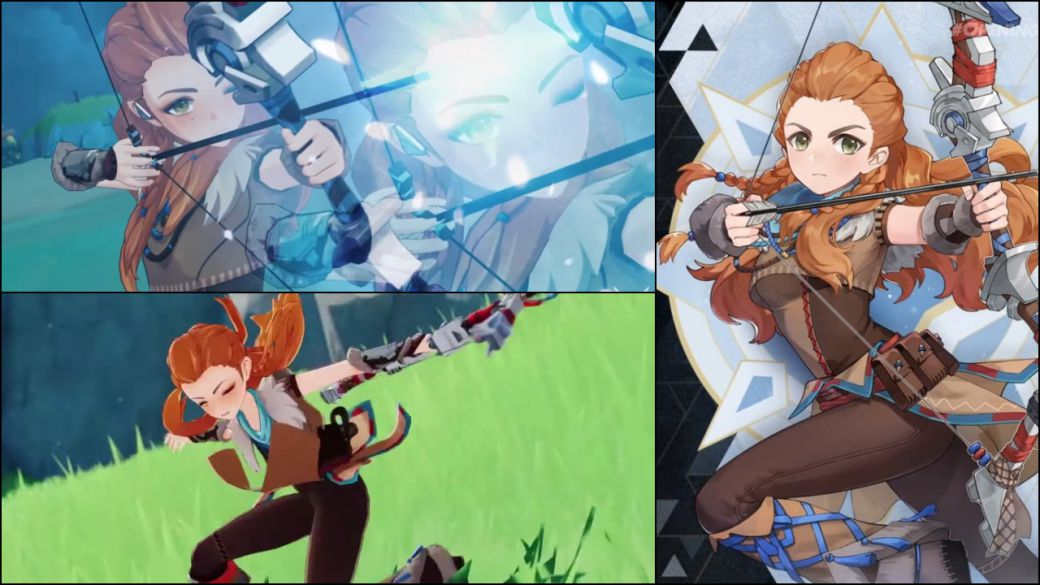 Genshin Impact x Horizon: date and first Aloy's gameplay in the game