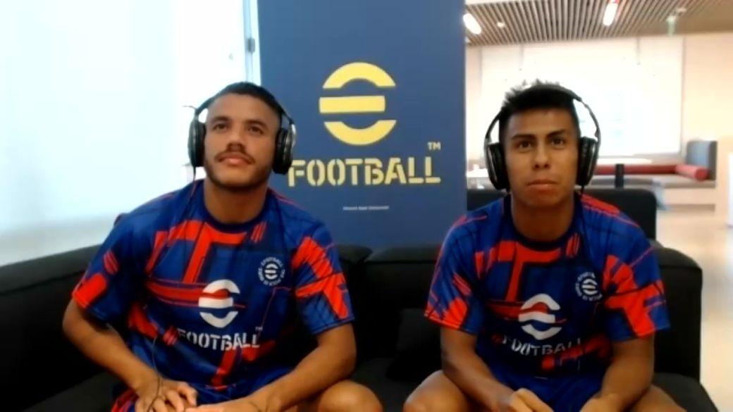 Jonathan Dos Santos and Efraín Álvarez contributed their movements to the new eFootball