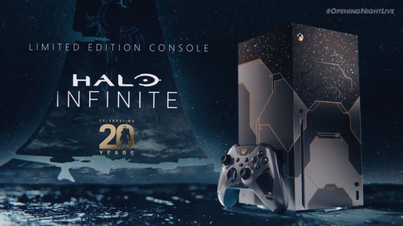 Halo Infinite will feature a special edition of Xbox Series X and a themed controller