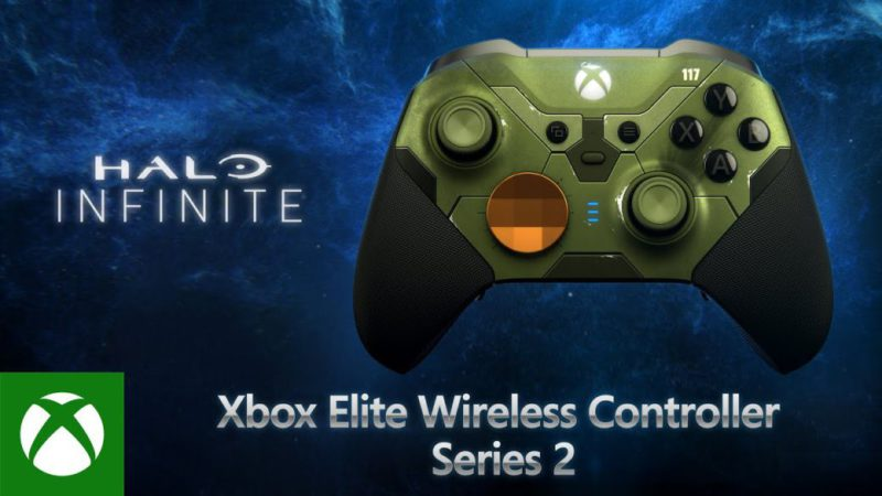Xbox Announces Limited Edition Halo Infinite Elite Series 2 Controller;  date and price