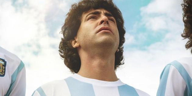 "Amazon Prime confirmed the premiere date of the series ""Maradona: Sueño Bendito"""