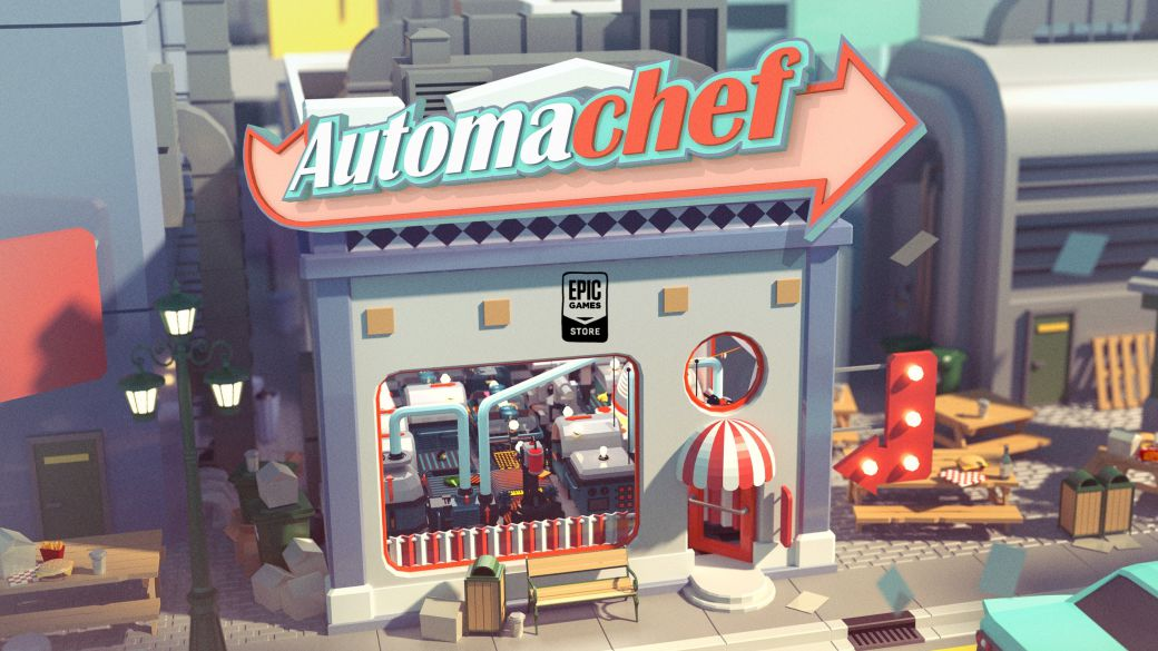 Automachef, free game on the Epic Games Store;  how to download it on pc
