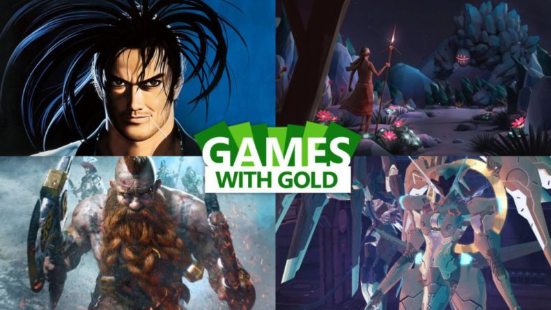September 2021 Gold Free Games Announced
