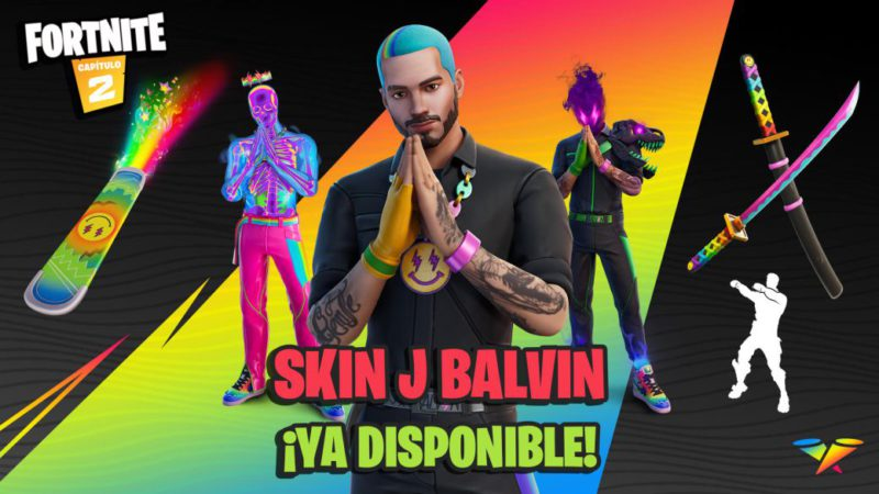 Fortnite: J Balvin skin now available;  price and contents