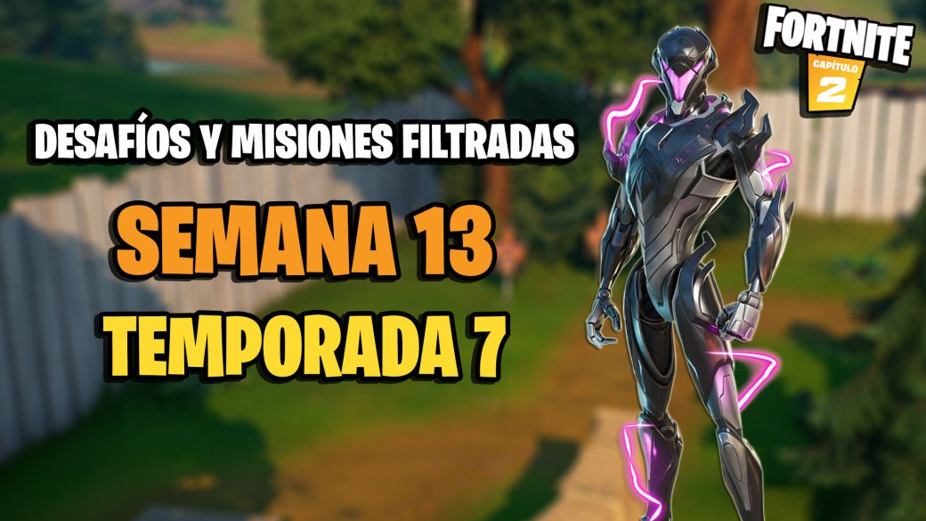 Fortnite Season 7: Week 13 Leaked Challenges and Missions
