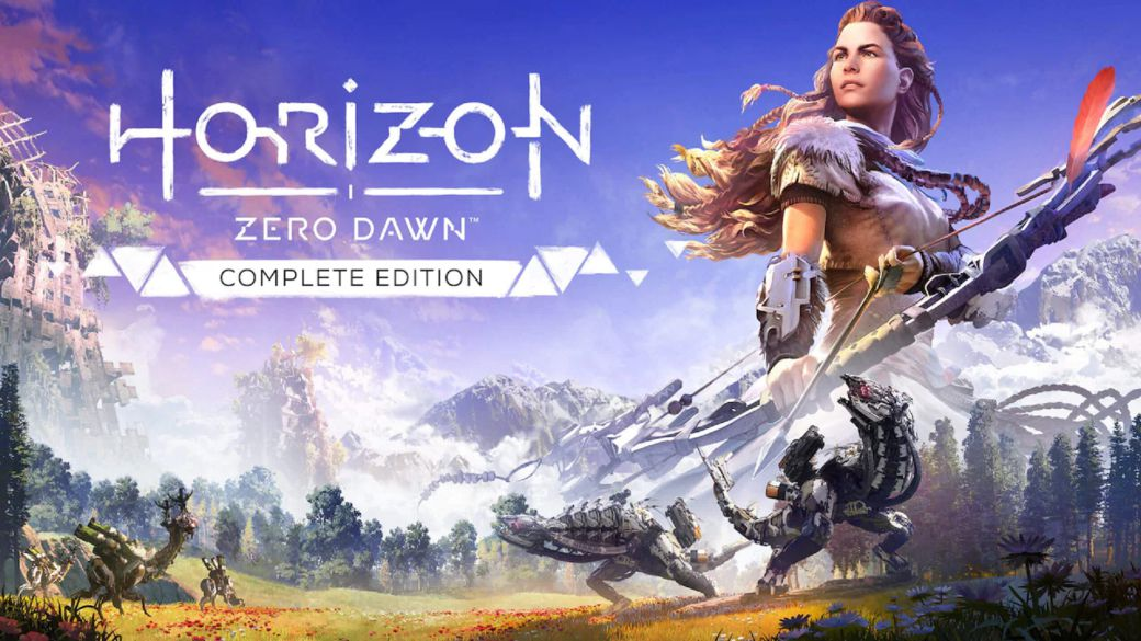 Horizon Zero Dawn changed its logo in 2020 to suit the sequel