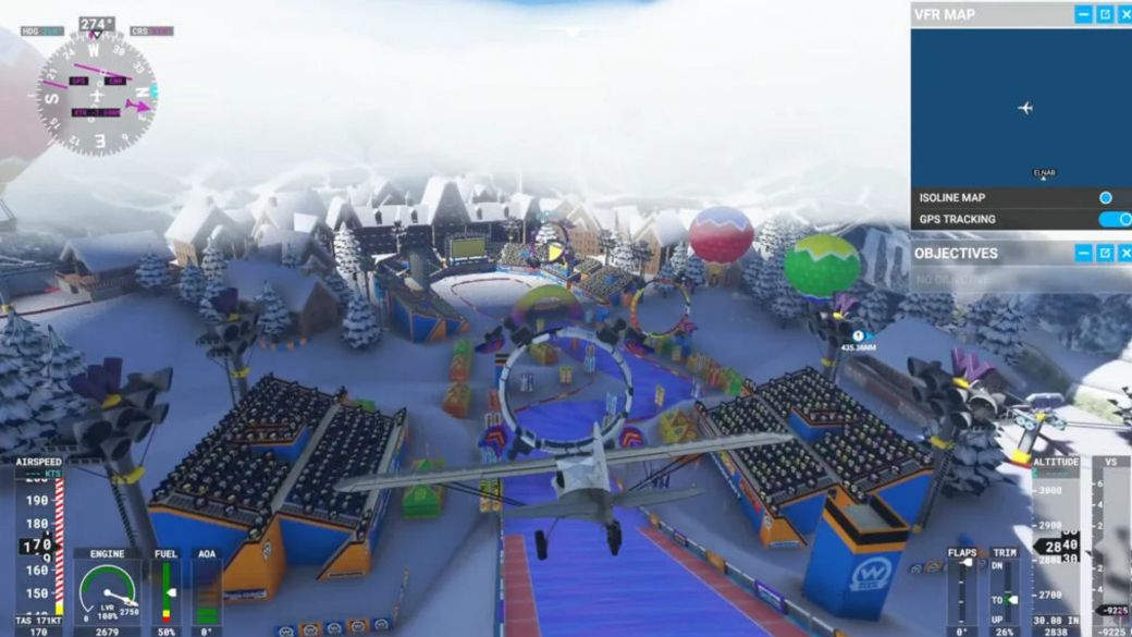 Microsoft Flight Simulator incorporates Mario Kart circuits thanks to a mod