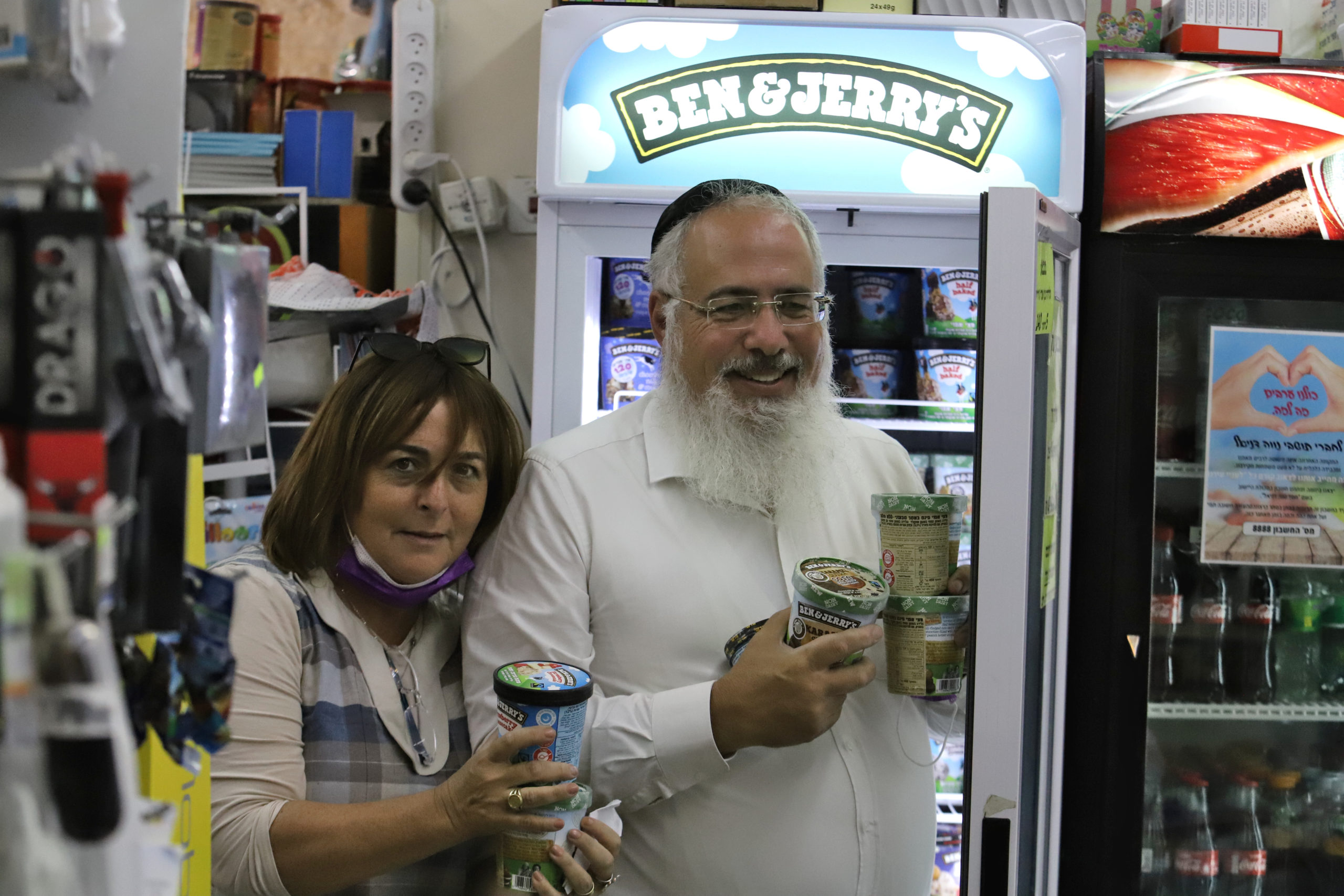 A taste of boycott that chills Jewish settlers