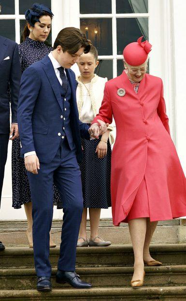 Queen Margarina and Christian of Denmark / Gtres