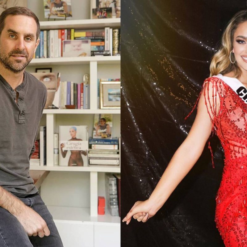 Cristián Arriagada acknowledges that he dated Daniela Nicolás