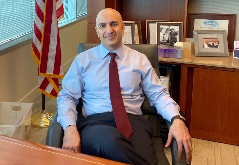 Fed's Kashkari Says Delta Could Hurt Stimulus Reduction Plan