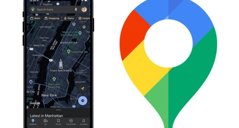 Google Maps: how to activate the dark mode in iOS