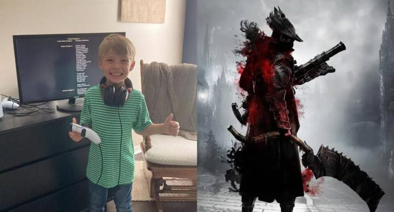 5-year-old boy managed to finish Bloodborne in 21 hours and is viral in networks - Diario Depor