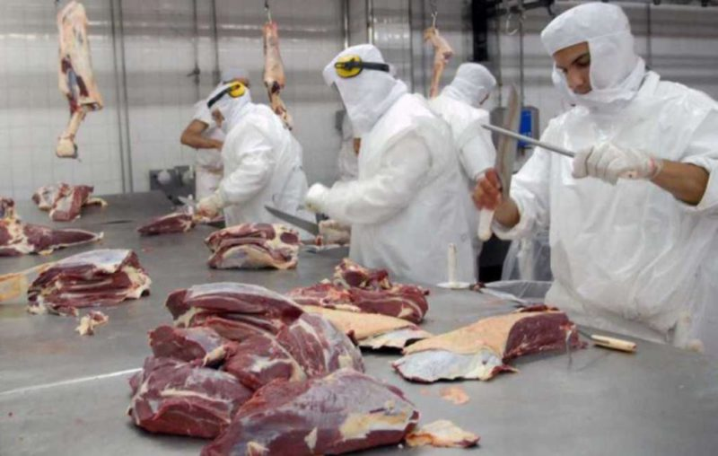 """Matías Kulfas minimized the stock of meat: he said that exports """"have been restored, with reduction levels"""""""