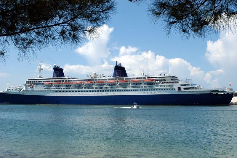 New Exclusive Class Cruise Ship Today For Its First Voyage From The USA