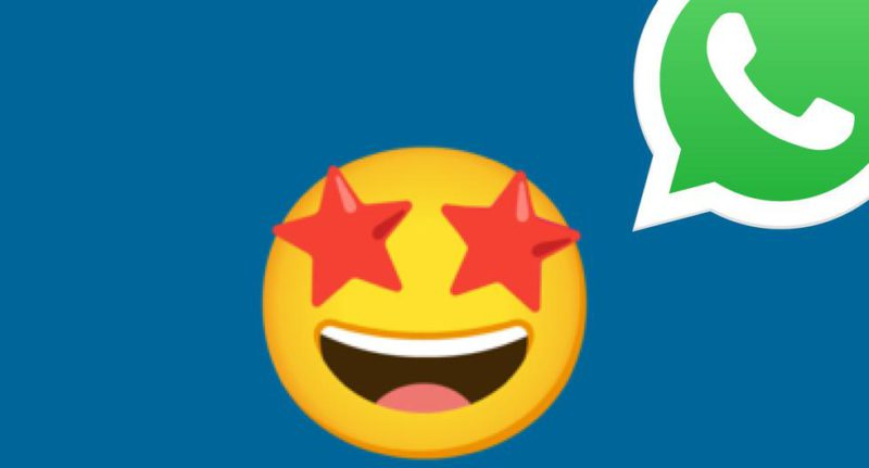 WhatsApp: what does the smiley face emoji with eyes stars mean?  - Depor Newspaper