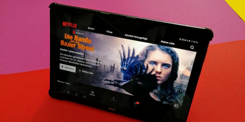 Streaming: The best tablets for Netflix and Co. from 100 euros