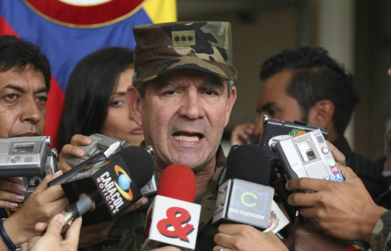 The Colombian prosecutor charges former Army chief Mario Montoya with 104 extrajudicial executions