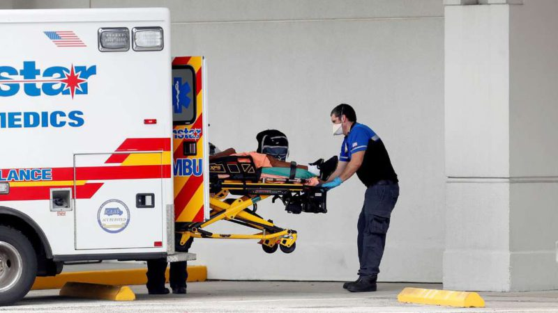 The Delta variant spreads across Florida: surgeries are suspended and there is a record of hospitalizations