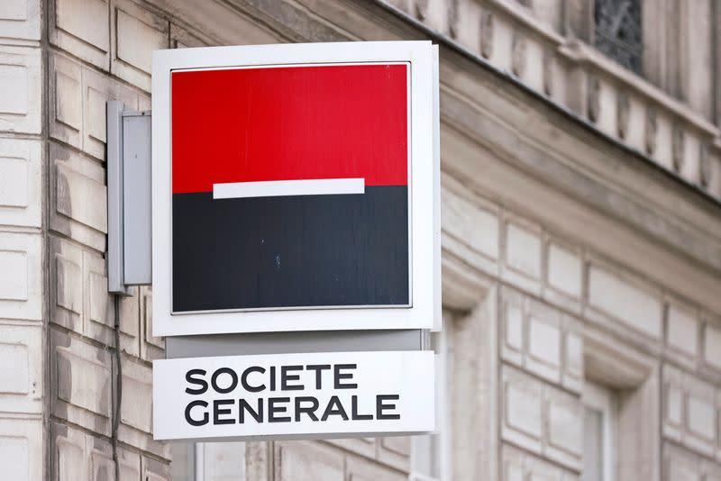 The French bank Société Générale raises its forecasts for 2021