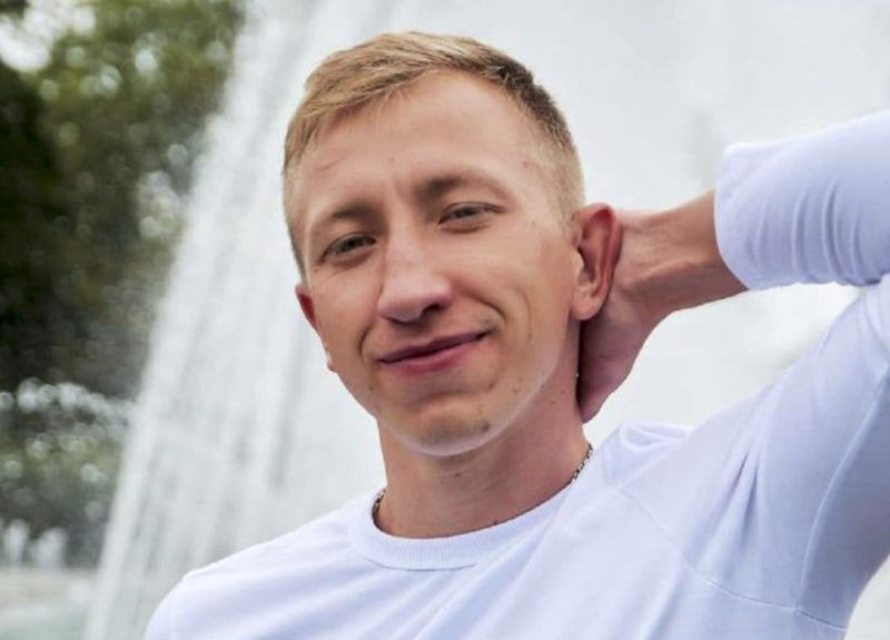 The leader of a group of Belarusians in exile, found hanged in a park in Ukraine