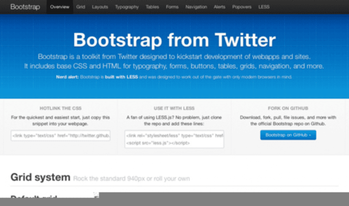 The first bootstrap release