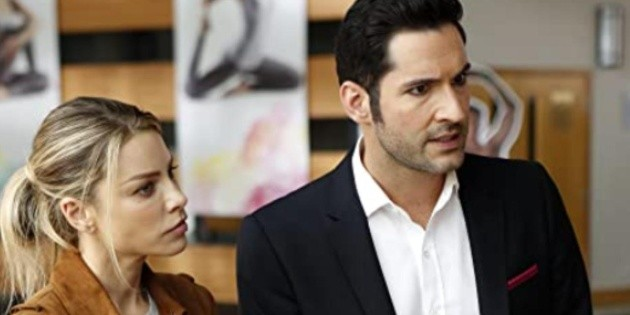 What is the dish Chloe prepares in an epic scene from Lucifer