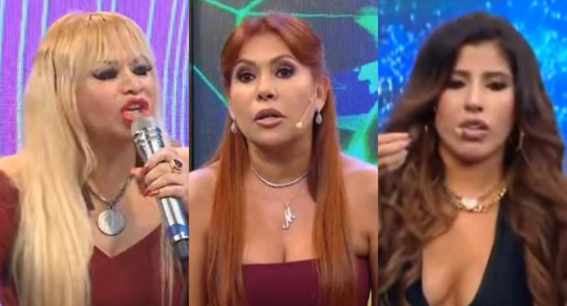 Magaly Medina: The latest live discussions with her guests on the set of her show