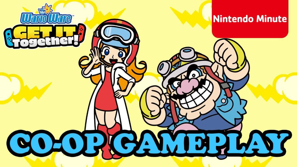 WarioWare: Get It Together!  presents its cooperative mode in a new gameplay