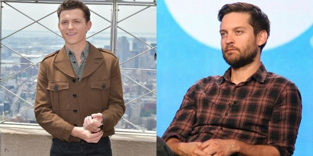 A new photo of Tobey Maguire with Tom Holland could confirm the spiderverse