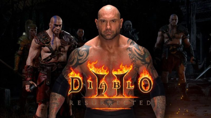 Diablo 2: Resurrected introduces the barbarian class in a new trailer