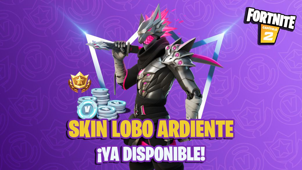 Fortnite Club September 2021: Burning Wolf skin and its items now available