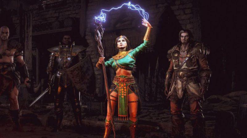 Diablo 2: Resurrected details the sorceresses in a new trailer