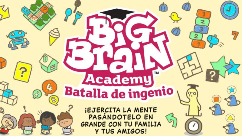 Big Brain Academy: Battle of Wits Announced for Nintendo Switch