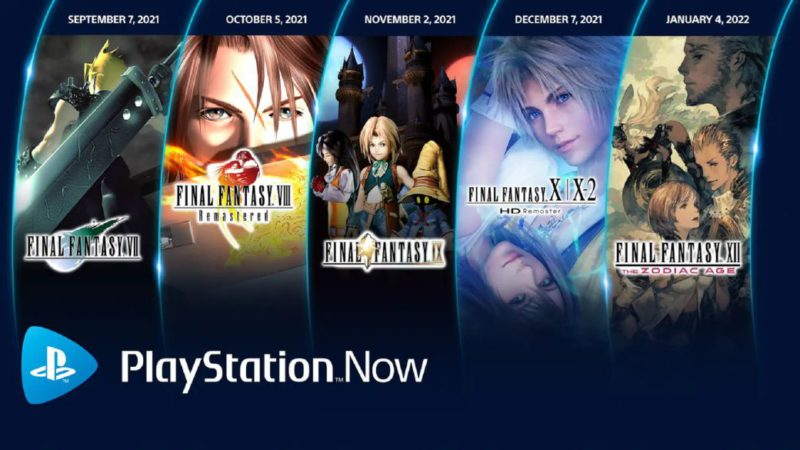 PlayStation Now will incorporate several Final Fantasy from September