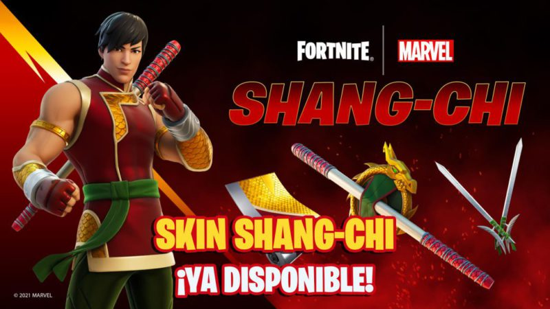 Fortnite: Marvel's Shang-Chi Skin Now Available;  price and contents
