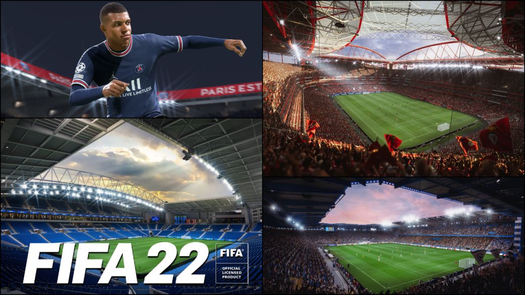 FIFA 22 shows its 100 licensed stadiums;  complete list of all fields