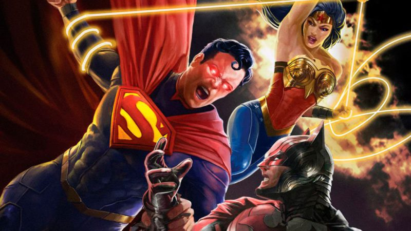 Injustice animated film already has a release date: Superman vs. DC universe