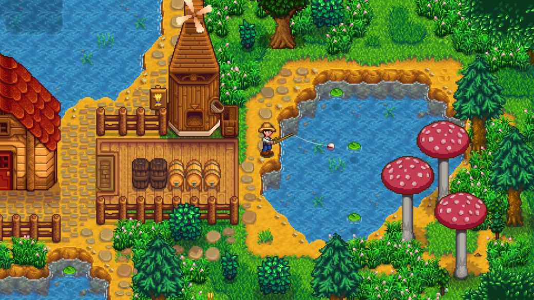 Stardew Valley creator is working on a new game and does not guarantee further updates