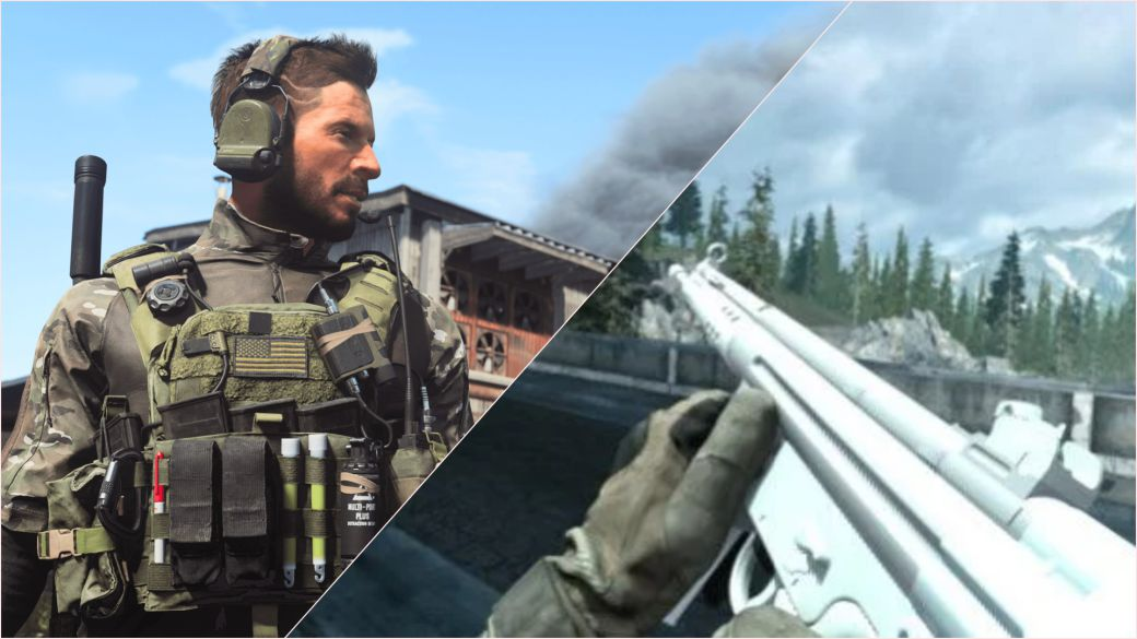 CoD Modern Warfare and Warzone - Users find an unused weapon and map in the endgame