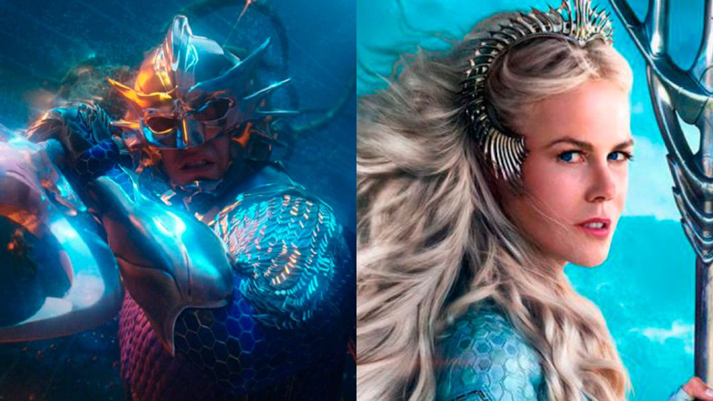Aquaman 2: first and unexpected image of Patrick Wilson as Orm;  Nicole Kidman returns