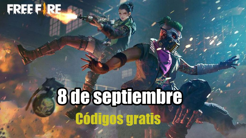 Today's Free Fire Codes September 8, 2021;  all free rewards