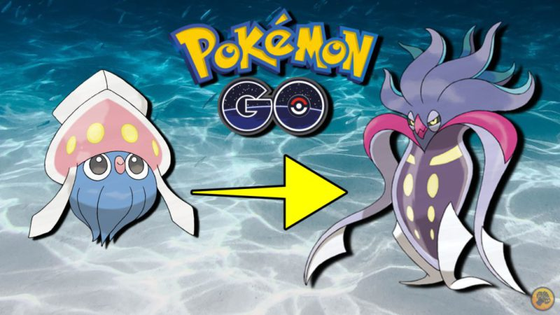 Inkay in Pokémon GO;  how to get it and evolve it in Malamar