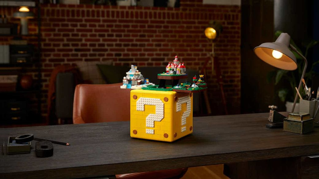 LEGO Super Mario 64 is block-shaped and hides the worlds of the classic