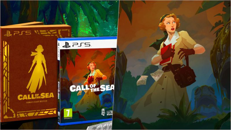 Call of the Sea presents its special physical edition for PS5 and PS4