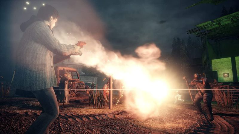 Alan Wake Remastered shares his first images: this is his graphics comparison
