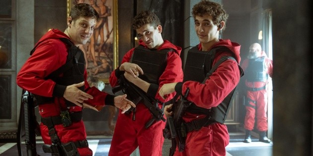 La Casa de Papel: this actor is the best at filming action scenes