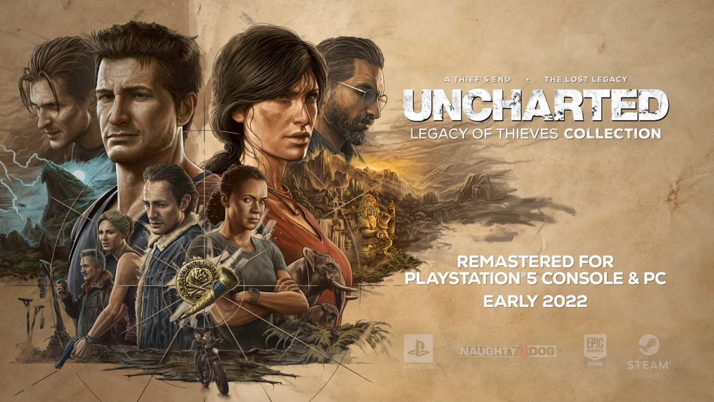Uncharted 4 and The Lost Legacy to Get Remastered on PS5 and PC: First Trailer